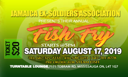 ANNUAL FISH FRY @ Turntable Restaurant and Lounge